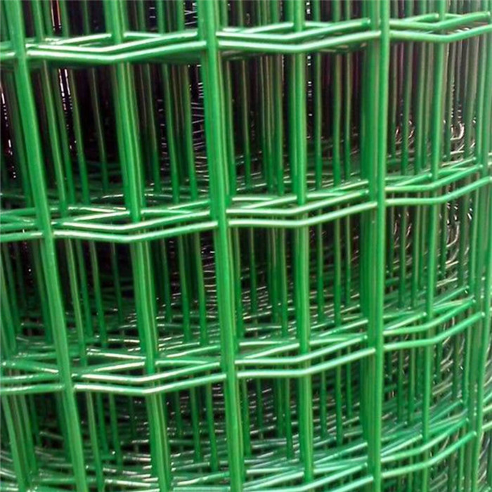 "2""x 4"" PVC Coated Welded Wire Mesh Fencing"
