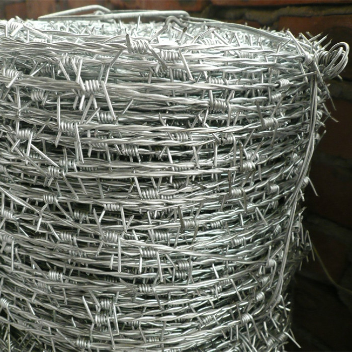 Electro Galvanized Barbed Wire 12 X 14 BWG