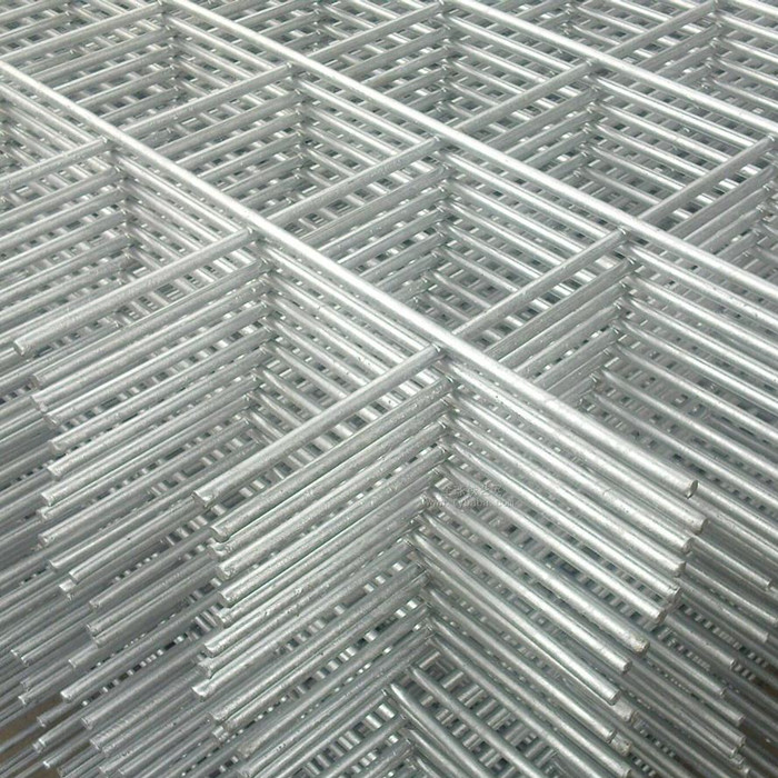 Welded galvanized filum mesh panels