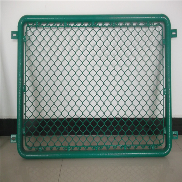 PVC Coted Chain Link Fence Rolls For zebala