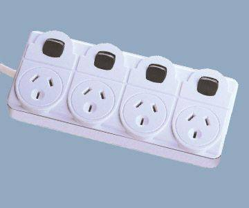 4 Strip Outlet Power cun Cambia
