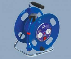 2 Outlet 15A elektrikoa Extension Reel