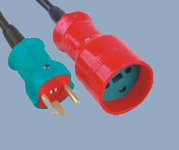 Extension Cord Denmark Rewireable Plug and Socket