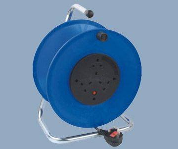 Extension Cable Reel UK 3 Socket Outlet Max 50M