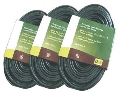 Descriptions of Low-Voltage Underground Landscape Lighting Cable PVC Flexible Cord