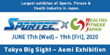 SPORTEC × HEALTH & MESIN-JAPAN