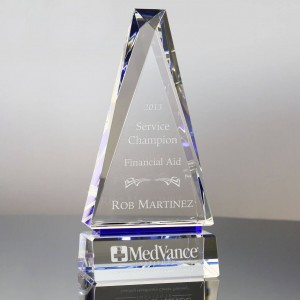 Manufacturer of customized corporate gifts award crystal trophy  CT841486