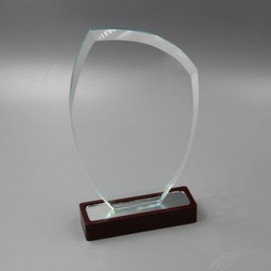 Wholesale Crystal Diamond Gifts - Clear Glass Trophy-GT821747 – Jaafarson