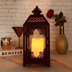 Handcrafted in a classic handle lantern
