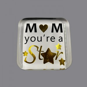 Custom Made Glass Paperweights,square Paperweight,CRY771013