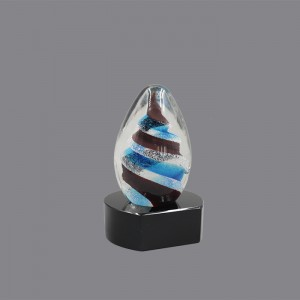 China New Product Sports Mtetal Trophy - Newest Design ART GLASS AWARD AG891055 made in China – Jaafarson
