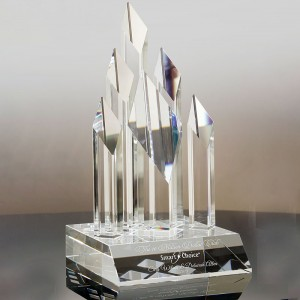 Individual Name Engraving tower Emmy crystal Award  CT841468