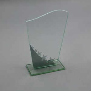 Economical High quality  glass award gift Trophy