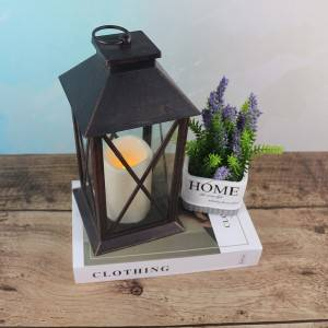 Plastic Candle Lantern wholesale Flame Effect LED Lantern
