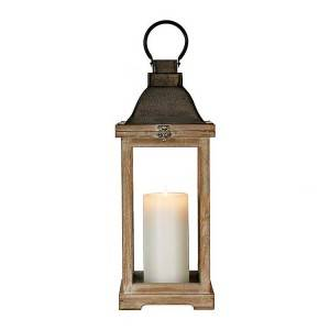 Decorative Hanging Wooden Candle Lanterns