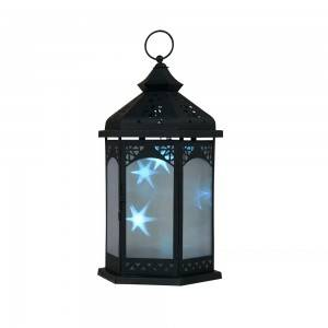Small Moroccan Candle Lantern for Party Decoration led metal candle