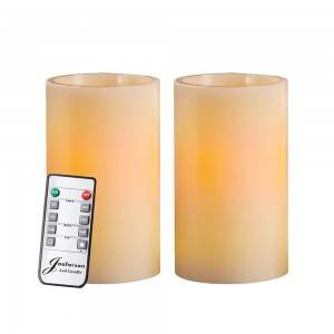 Remote controlled Wave Mouth LED Electronic Candle Light Electric Candle Proposal Candle