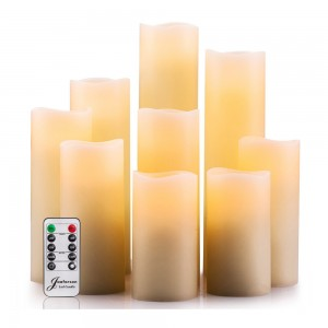 2020 ten key dancing flame remote control LED candles