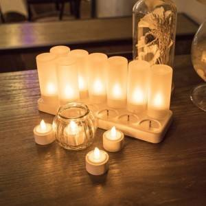 2020 Hot Selling Safety Flameless Rechargeable LED candle Electric LED Candle For Celebration