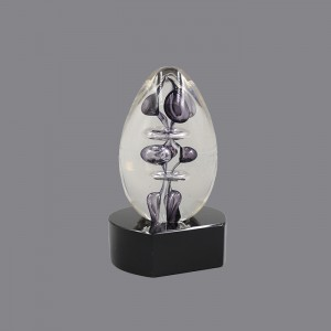 Beautiful Modern Art Glass Sculpture Award , AG891058,   ART GLASS TROPHY