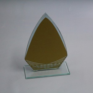 2020 New Arrival Glass Awards ECONOMICAL TROPHY
