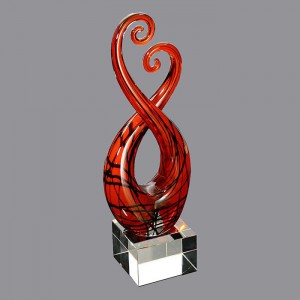 New design high quality business GLASS AWARD