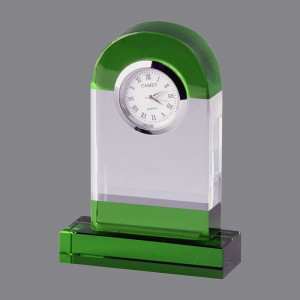 Nesest desk crystal clock rolex wall clock CRYSTAL GLASS CLOCK,CRY791029
