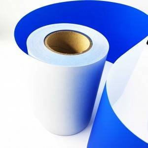 36 Micron Blue Non Transfer Void Open Tamper Bukti Void Label Printing Material