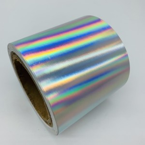უშიშროების Plain Hologram Ultra Destructible Vinyl, Tamper Proof Holographic Fragile Sticker ქაღალდის მასალა