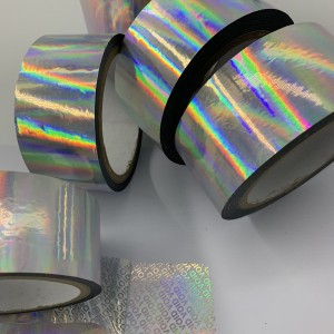 25 Micron Hologram Security Void Tape
