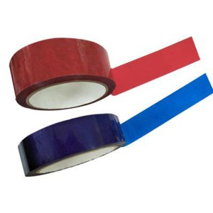 25 Micron Blue Total Transfer Void Tape For Package Sealing