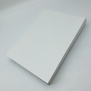 Matte White matsananci Destructible roba Sheet