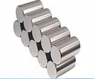 Customized rare earth neodymium cylindrical magnet for sale
