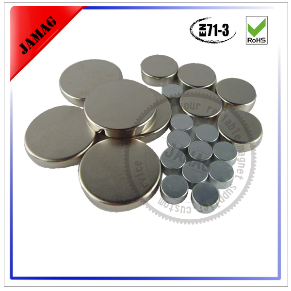 Excellent quality Strong Magnets - 5mm by 3mm small thin circle neodymium  magnets for jewelry – Jammymag