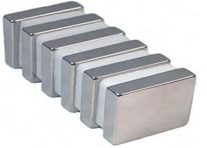 Neodymium flat rectangular bar magnets widely use