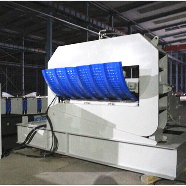 steel roof sheet crimping machine