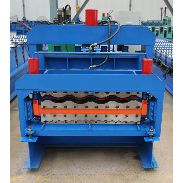 Galvanized Double Deck Metal Roof Panel Machine