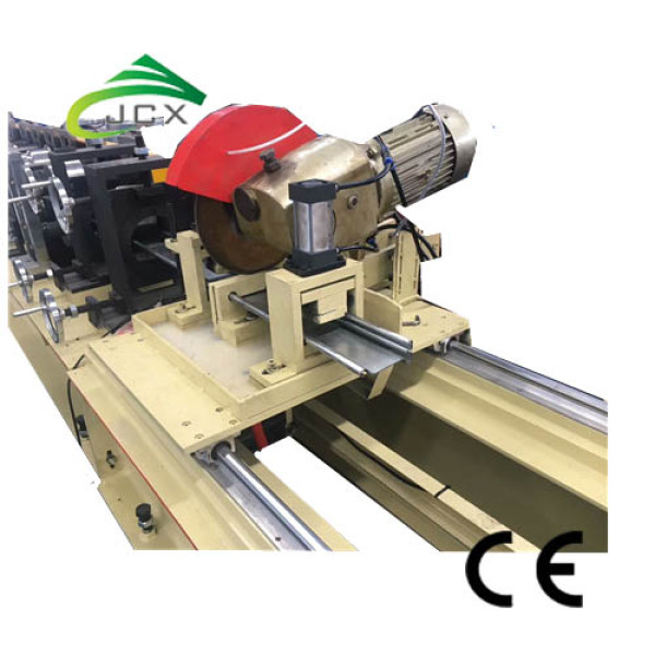 Bottom shutter door forming machine