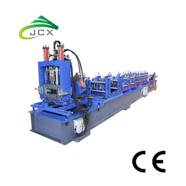 Adjustable C Z Purlin Cold Roll Forming Machine