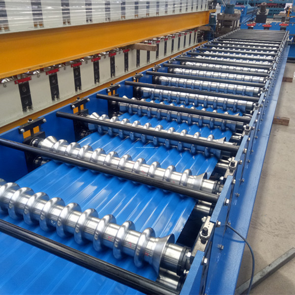 Corrugated Iron Sheet Roll Forming Machine for Sale