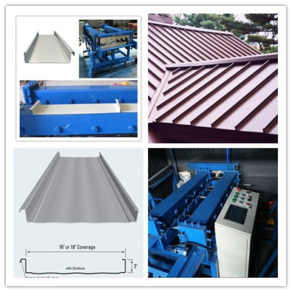 Mobile roll forming machine