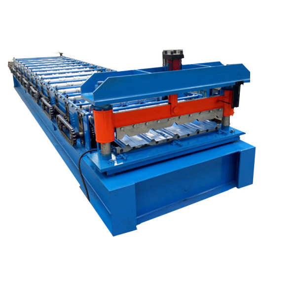 Galvanized roof panel machine