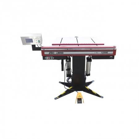 JDCbend 1250E pneumatic magnetic sheet metal bending machine, folding machine with auto backgauge