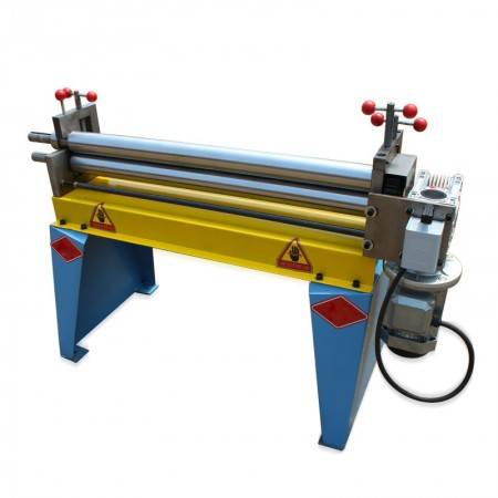 Rolling plate of air duct equipment of three roll coiler