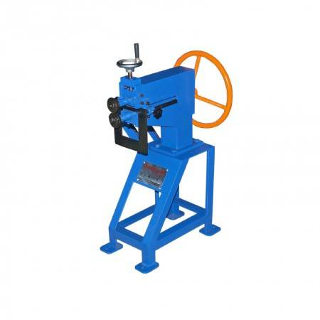 Economic Manual Electric reel machine for beading round pipe