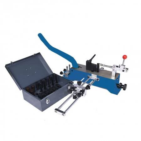 Hand operated steel rule die bending machine