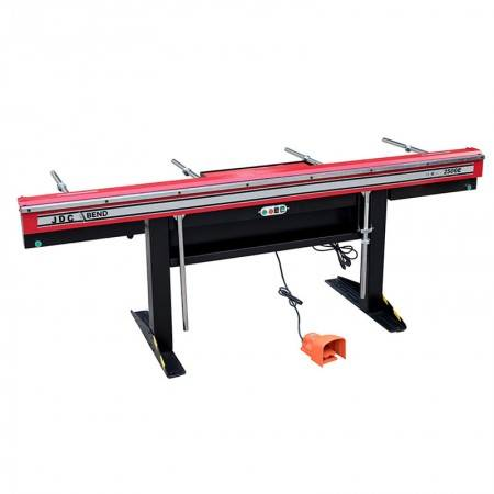 Electromagnetic Hand Sheet Metal Folding Machine , Manual Bending Machine