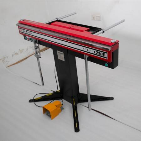 Small deformation magnetic sheet metal bending machine