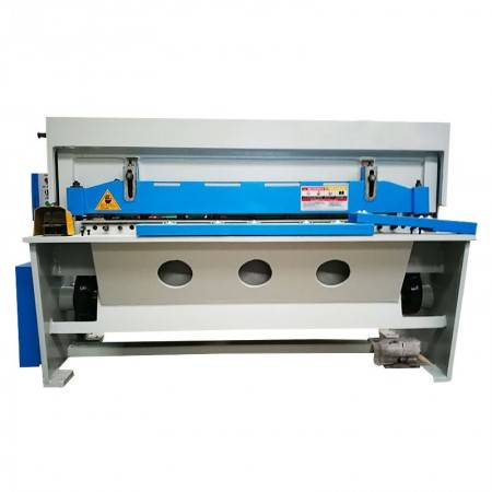 Electric shearing machine metal sheet power cutter guillotine