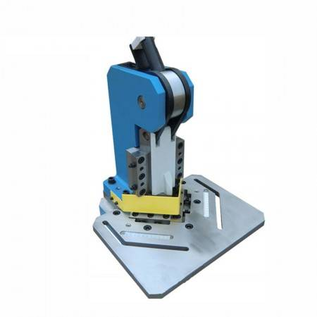 HN-3/102 Hand Operated Notcher Right Angle Shear Cutting Machine